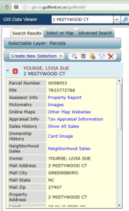 Property records show Livia Sue Yourse as the owner of the house.